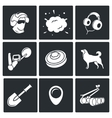 Demolitions sapper icons vector image vector image
