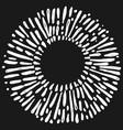 doodle design element hand drawn spark vector image vector image