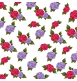 flower floral pattern nature icon vector image vector image