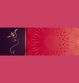 premium golden lord ganesha design banner with vector image vector image