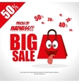 prices of madness big sale fun bag vector image