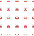 car icon pattern seamless white background vector image vector image