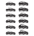 Cars and off road vehicles vector image vector image