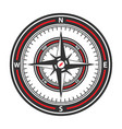 compass image vector image