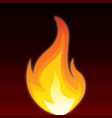 flames image vector image vector image