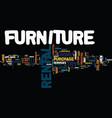 good reasons why a furniture rental may make good vector image vector image
