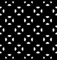 minimalist seamless pattern black white vector image vector image