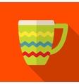 Mug icon vector image vector image