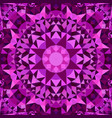 purple abstract seamless triangle mosaic vector image vector image