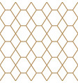 seamless geometric pattern black and white color vector image vector image