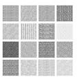 seamless pattern rough hatching grunge texture vector image