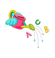 A watering can vector image vector image
