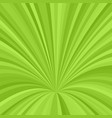 curved ray burst background - graphic from curved vector image vector image
