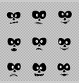 day of the dead eyes set vector image vector image