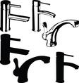 Fountain black vector image vector image