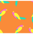 Parrot seamless pattern vector image vector image
