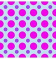 Polka dot geometric seamless pattern vector image vector image