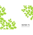 abstract background with green sheet Background vector image