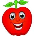 apple smile vector image