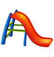 A colourful slide vector image vector image