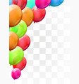 balloon brunch on transparent background greeting vector image vector image