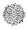 circular ornament Mandala design vector image