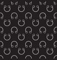 dark circular barbells horseshoe seamless vector image
