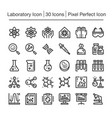 laboratory line icon vector image