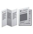 leaflet and booklet vector image