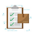 mail order delivery vector image
