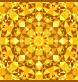 orange abstract seamless triangle mosaic vector image