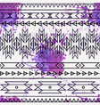 seamless decorative ethnic pattern vector image vector image
