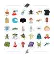 leisure business hunting and other web icon in vector image vector image