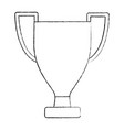 trophy winner award competition sport vector image