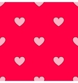 valentines hearts seamless pattern Wedding vector image vector image