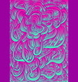vintage bright psychedelic crazy abstract swirl vector image vector image