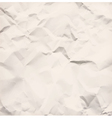 Crumpled paper texture vector image