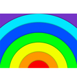 Abstract Background Rainbow vector image vector image
