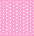 baby background polka dot pattern with small vector image vector image