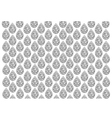 Black and White of Thai Vintage Wallpaper vector image