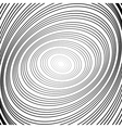 Design monochrome whirl circular motion background vector image vector image