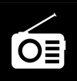 radio icon design vector image