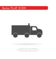 truck icon for web business finance and vector image