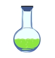 chemistry flask vector image