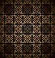Victorian wallpaper pattern vector image