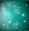 blue background with stars and transparent vector image vector image