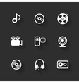 design flat icons vector image vector image