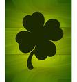 Four-leaf clover sticker vector image vector image