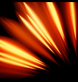 magic glowing light swirl trail trace effect vector image vector image