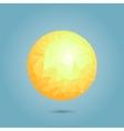 Modern geometric sun vector image